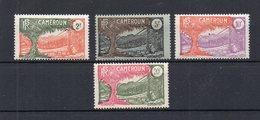 !!! PRIX FIXE : CAMEROUN, SERIE N°129/132 NEUVE **, GOMME BLANCHE - Cameroun (1915-1959)