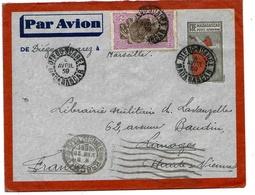Madagascar Lettre Entier Avion Airmail Stationary Diego-Suarez 4 Avril 1939 Cover - Madagascar (1889-1960)