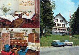 (135) CPSM  PUB  Les Rangiers  Hotel Restaurant  Bellevue  (Bon Etat) - JU Jura