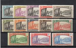 !!! PRIX FIXE : CAMEROUN, SERIE TAXES N°1/13 NEUVE **, GOMME BLANCHE. RARE DANS CETTE QUALITE - Cameroun (1915-1959)