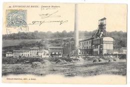 Cpa: 54 Environs De BRIEY - Usines De MOUTIERS (Train Pp) 1904 N°19 (Précurseur)  Ed. G. Babillon - Briey