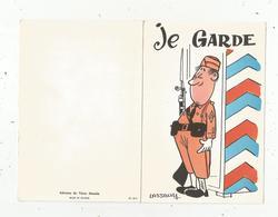 Cp 4 Pages ,illustrateur ,signée LASSALVY , Je Garde  ,vierge,ed.  Du Vieux Moulin,n° 61-311 , 2 Scans - Lassalvy