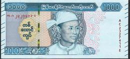 MYANMAR NLP 1000 KYATS 2020 #AC Issued January 2020 UNC. - Thailand
