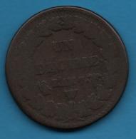 France 1 DECIME AN 7W Dupré Gad# 187, F# 129 - 1789-1795 Period: Revolution