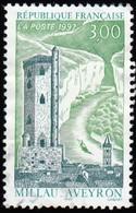 FRANCE - Scott #2563 Millau / Used Stamp - Schlösser U. Burgen