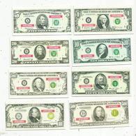 Billet , Fictifs & Specimen , The United States Of America , 1-5-10-20-50-100-500 Et 1000 Dollars ,LOT DE 8 BILLETS - Specimen