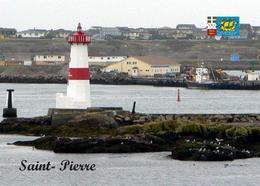 Saint Pierre And Miquelon St Pierre Lighthouse New Postcard Leuchtturm AK - Phares