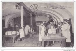 Roquefort.- (Aveyron) Société Anonyme Des Caves - Salle D ´ Expedition + Timbre  Pub Publicité Grey Poupon - Roquefort