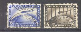 Reich  Michel #  423 - 24 Zeppelin - Allemagne