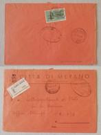 Raccomandata Espresso Per Posta Da Campo 873 Da Merano - 24/03/1944 - 4. 1944-45 Repubblica Sociale