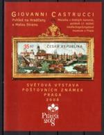 REPUBLIC TCHEQUE - PRAGA 2008 - Blocs-feuillets