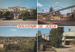 JOEUF - MEURTHE & MOSELLE - (54) - PEU COURANTE CPSM MULTIVUES 1977. - Autres Communes