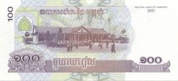 100 ? CAMBODIA Banknote Gute Erhaltung - Cambodge