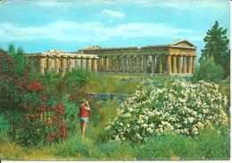 Paestum (Salerno) Basilica E Tempio Di Nettuno, Basilique Et Temple De Neptune - Salerno