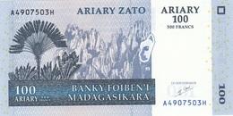 100 ? MADAGASIKARA Banknote Gute Erhaltung - Madagascar