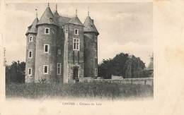59 Landas Chateau Du Loir Cpa Cachet 1908 - Otros Municipios