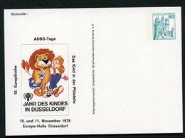 JAHR DES KINDES Düsseldorf 1979 Bund PP103 D2/004-I - Infanzia & Giovinezza