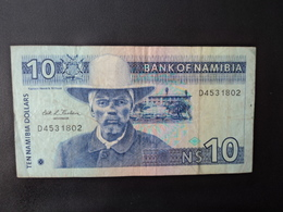 NAMIBIE : 10 DOLLARS   ND 1993    P 1a     TTB - Namibia