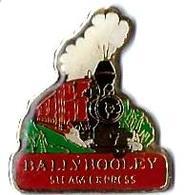 AUTRES PAYS - AP539 - IRLANDE - BALLYHOOLEY - TRAIN A VAPEUR - TGV - Verso : C M COLAS - TGV