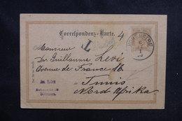 AUTRICHE - Entier Postal De Hohenelbe Pour La Tunisie Avec Cachet De Taxe - L 52465 - Enteros Postales