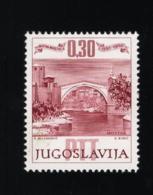1966 Sept. Mostar Mi YU 1185 Sn YU 827 Yt YU 1068 Sg YU 1223 Postfr. Xx MNH - 1945-1992 République Fédérative Populaire De Yougoslavie