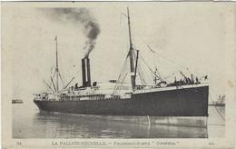 17  La Pallice-rochelle  Paquebot-poste Oropesa - La Rochelle