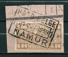 TR 157 Gestempeld Op Fragment NORD BELGE - NAMUR - Bahnwesen