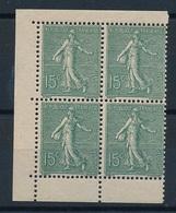 DI-303: FRANCE: Lot Avec N°130e (2** 2) - 1903-60 Säerin, Untergrund Schraffiert
