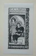 Ex-libris Illustré XIXème - W.H. DOWNING - Ex-libris