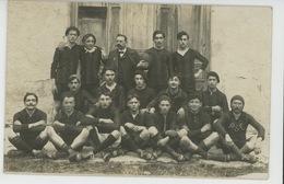 PHOTOS - RUGBY - Belle Carte Photo D'une équipe De Rugby En Tenue Avec Ballon (équipe P S C ) - Non Située - Rugby