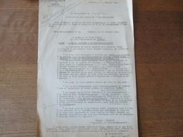 CAMBRAI LE 3 FEVRIER 1942 KREISKOMMANDANTUR B 692 SIGNE ENGELS CAPITAINE ET KREISKOMMANDANT AU SOUS PREFET - Historische Documenten
