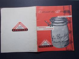 Document Carnet De Recettes Publicitaire (2630) - Livres, BD, Revues