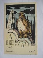 ROBERTY    -    CHANTECLER   -   LE  HIBOU    ....     TTB - Andere Illustrators