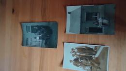 3 Photos Mystère  19?? -  Hainaut !! - Personnes Anonymes