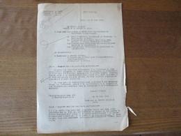 ETAT FRANCAIS LILLE LE 18 JUIN 1942 OBERFELDKOMMANDANTUR 670 L'OBERFELDKOMMANDANT NIEHOFF COURRIER AU PREFET DU NORD - Historische Documenten