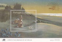 Portugal, 1985, 1672 Block 48, Naturschutzgebiete Und Nationalparks, MNH ** - Blocks & Sheetlets