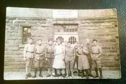 Carte Postale Militaire Infirmerie De Garnison Tête De Pont De Kehl - France