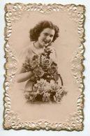FANTAISIE AJOUTIS  0124 Bords Facon Dentelle Femme Corbeille Fleurs Roses - A Systèmes