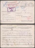 """Guerre 40-45 - Poskarte """"Kriegsgefangenenpost"""" Expédié De Leuven (1943) Vers Le Stalag X B Suivi Vers VIII C - Guerre 40-45"""