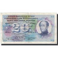 Billet, Suisse, 20 Franken, 1956, 1956-07-05, KM:46d, TB - Suisse