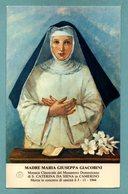 M. MARIA GIUSPPA GIACOBINI - CON RELIQUIA - Mm. 80 X 130 - Religion & Esotérisme