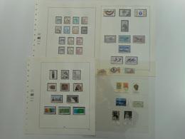 PHILATELIE, ALLEMAGNE, COLLECTION TIMBRES NEUFS 1978 / 1991 EN FEUILLES SAFE, ALLEMAGNE + BERLIN, TOUS LES SCANS - Collezioni