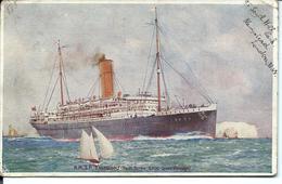 """PAQUEBOT - R.M.S.P. """" Essequibo """" - 1914 - VENTE DIRECTE X - Paquebote"""