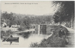 ENVIRONS DE PONTIVY - LES GORGES DE CAUREL - BIEN ANIMEE - VERS 1900 - Pontivy