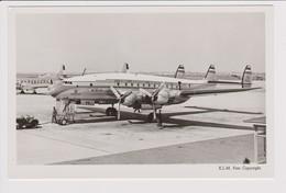 Vintagerppc KLM K.L.M Royal Dutch Airlines Lockheed Constellation, Convair @ Schiphol Amsterdam Airport - 1919-1938: Between Wars