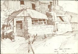 (LAMBALLE )( 22 COTES DU NORD  )( ILLUSTRATEUR ) ( MATURIN MEHEUT )( GUERRE 1914.1918 )( EN ARGONNE ) - Meheut