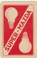 2 SPEELKAARTEN MAZDA LAMPEN - Playing Cards