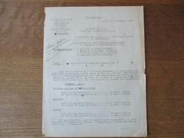 ETAT FRANCAIS LILLE LE 13 NOVEMBRE 1942 LE PREFET DU NORD OBJET LIMITATION DE LA VITESSE DES AUTOMOBILES - Historische Dokumente