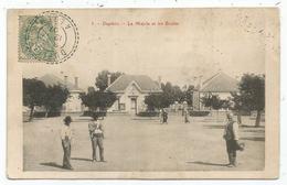 BLANC 5C AU RECTO CARTE ALGERIE  FACTEUR BOITIER DUPLEIX 12.4.1907 ALGER - 1900-29 Blanc