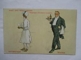 EAST  AND  WEST  SERIES  -    SERVEURS  -  KHITMUTGAR  &  WAITER  ...      TTB - 1900-1949